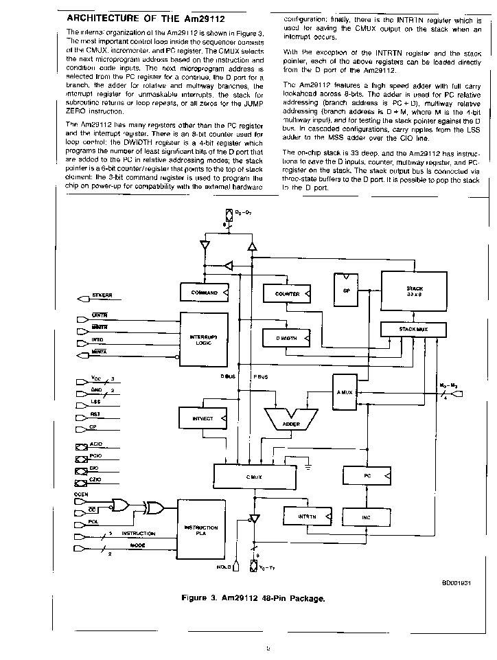 microprogram sequencer Other amd identification pages: x86 cpus from 8086 to k5   geode microprogram sequencer: 29203: 29203 bit-slice processor, improved version of amd 2903: families.
