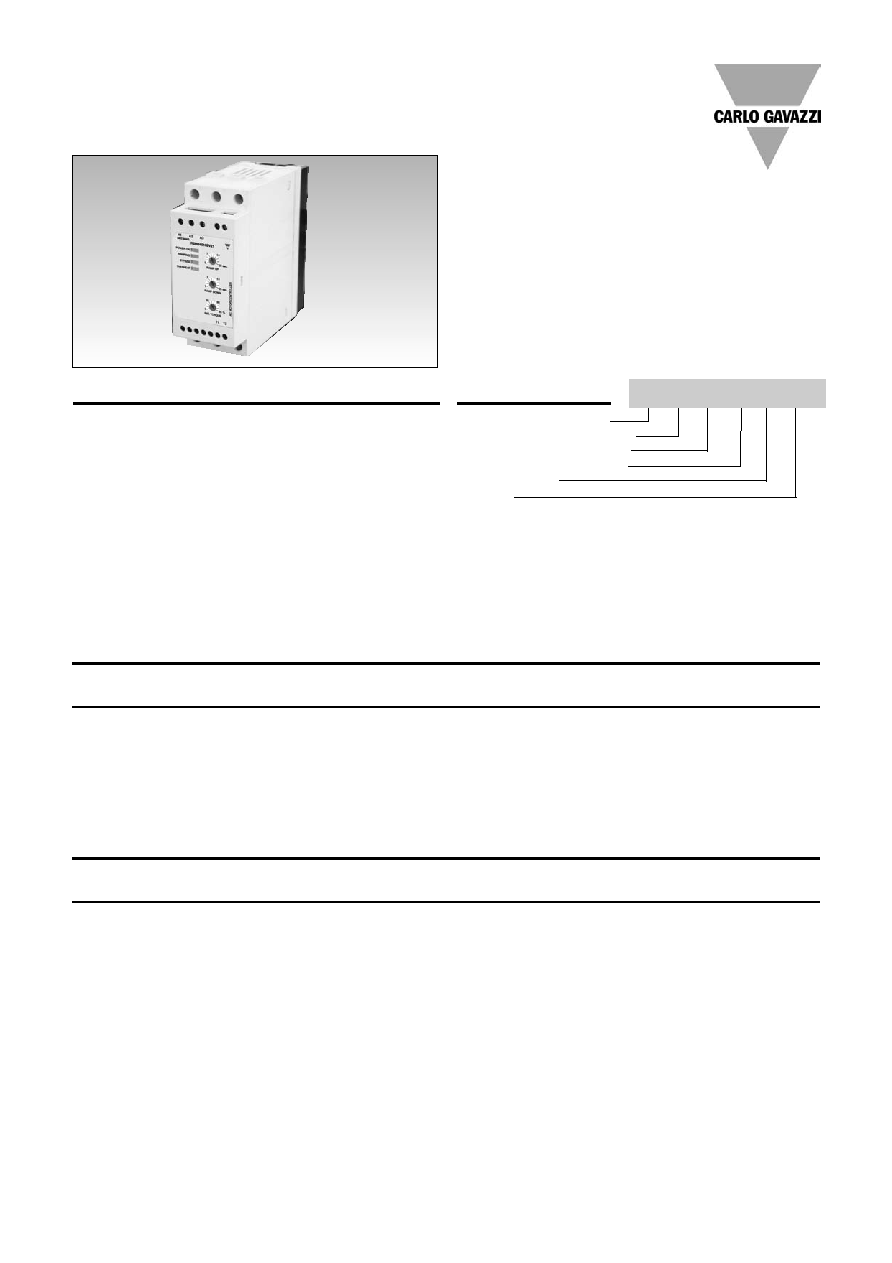 Rshr4812bv20 Carlo Gavazzi Ac Semiconductor Motor Controller Schematic Diagramcont Specifications Are Subject To Change 03082006