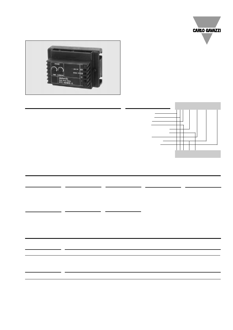 Rto1250 Carlo Gavazzi Dynamic Braking 60a Dc Htmldatasheet Resistor Wiring Diagram Specifications Are Subject To Change Without Notice 30061999 1 Solid State Relay