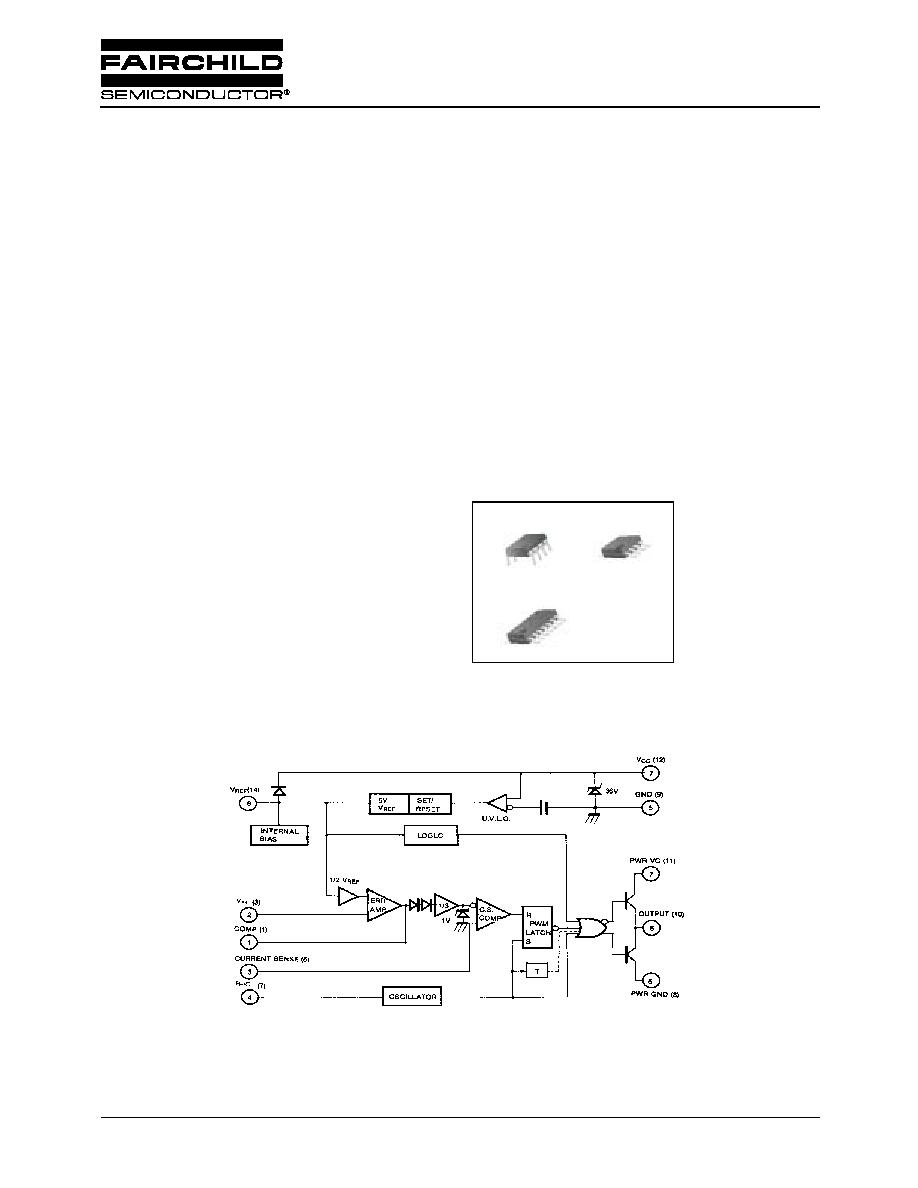 UC3845 (Fairchild) - SMPS Controller | HTML.datasheet