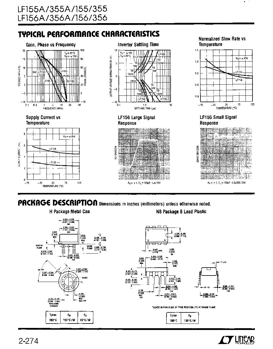 Pdf lf356 datasheet
