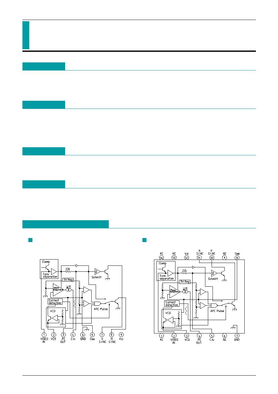 Lva519 Mitsumi Sync Separator With Afc Html Datasheet
