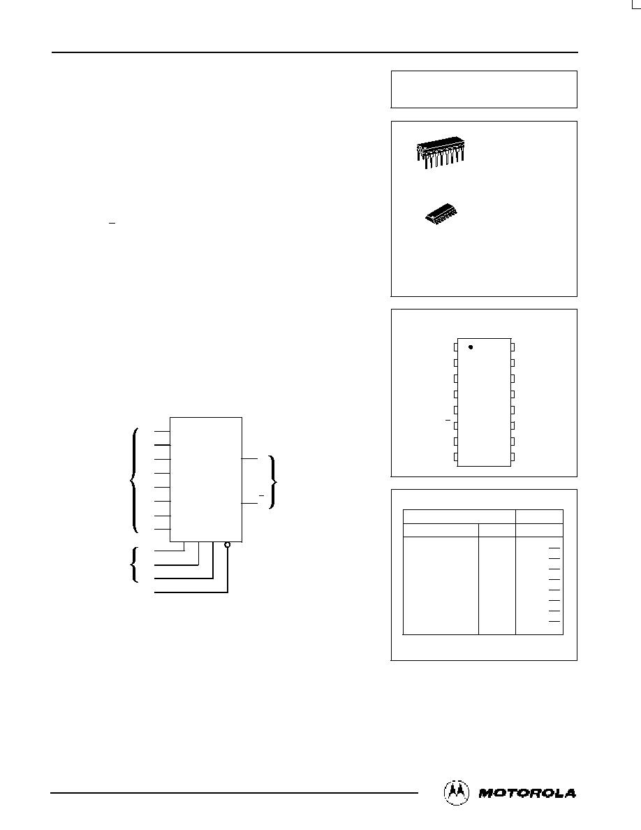 74hc151  motorola   multiplexer