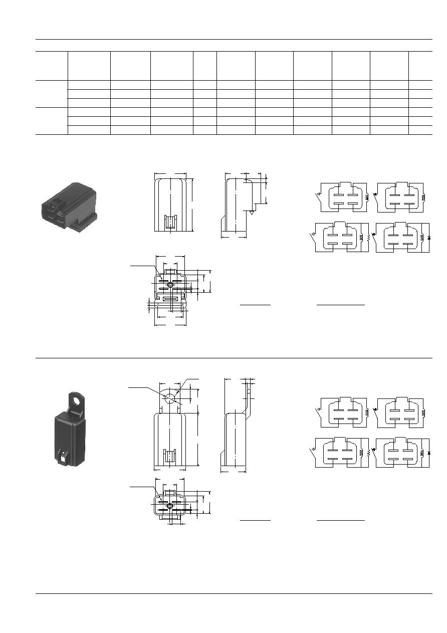 Ca1a 12v A 5 Nais Automotive Power Relays Small Size Light 12 Volt Relay Ca