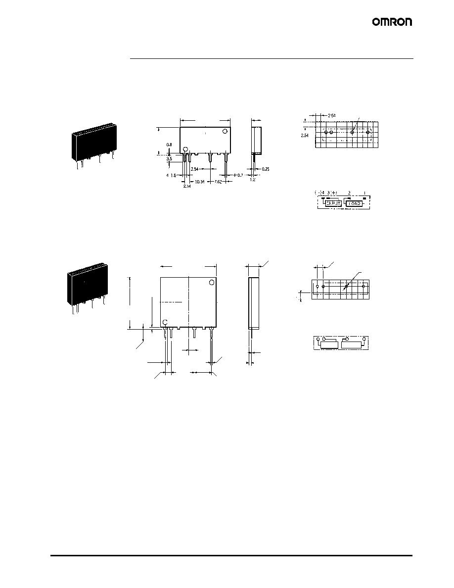 G3MC-101P (Omron) - Solid State Relay Data Sheet | HTML.datasheet on