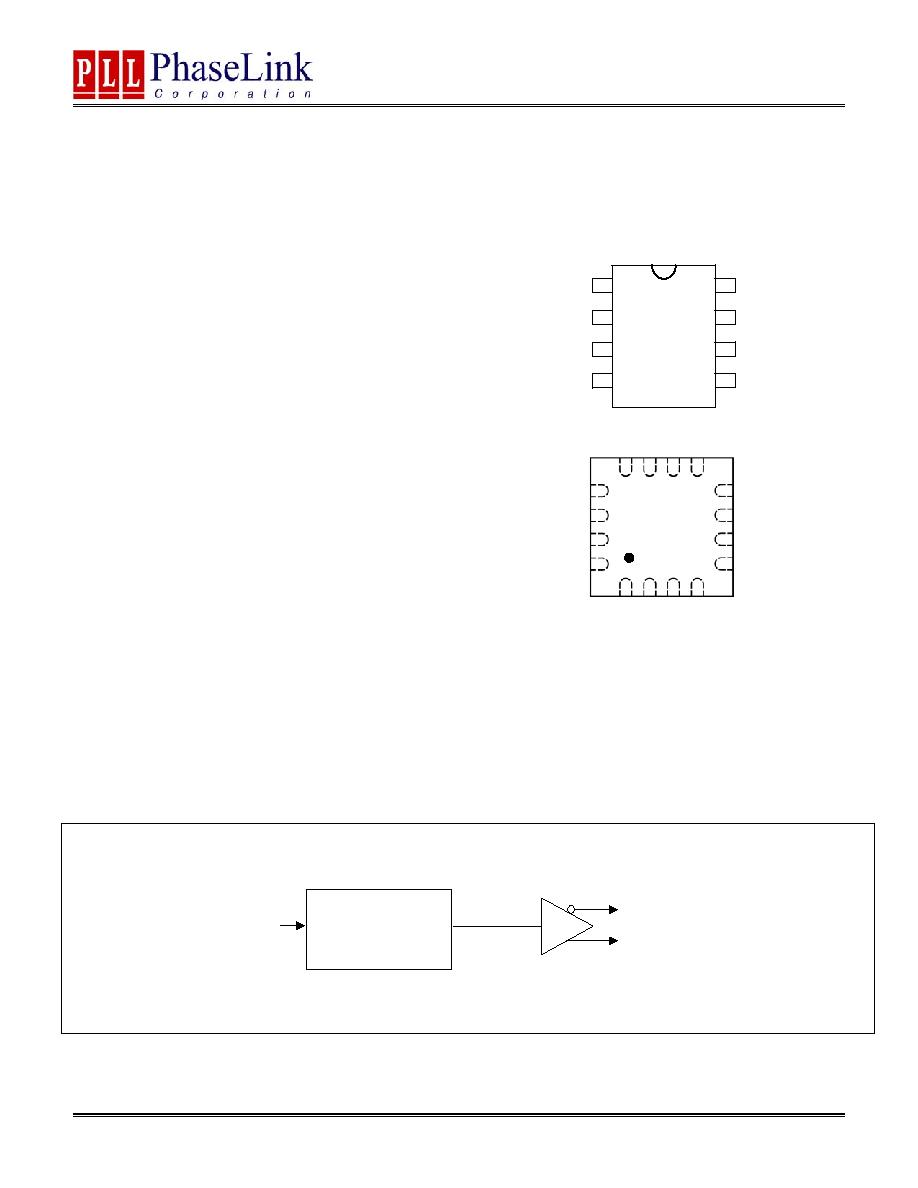 PLL130-09 (PhaseLink) - High Speed Translator Buffer to LVDS