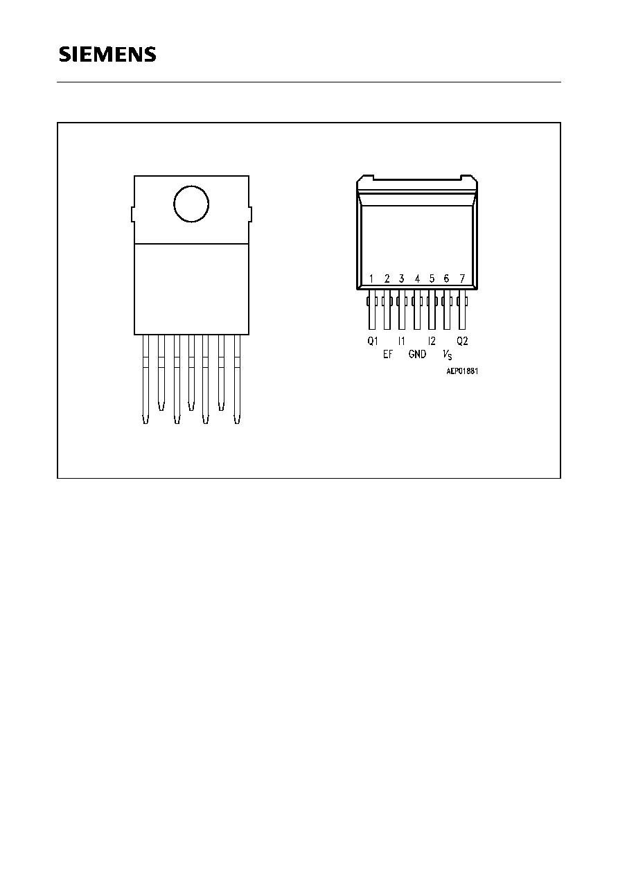 Tle5203g Siemens 3 A Dc Motor Driver Htmldatasheet Circuit For Tle 5203
