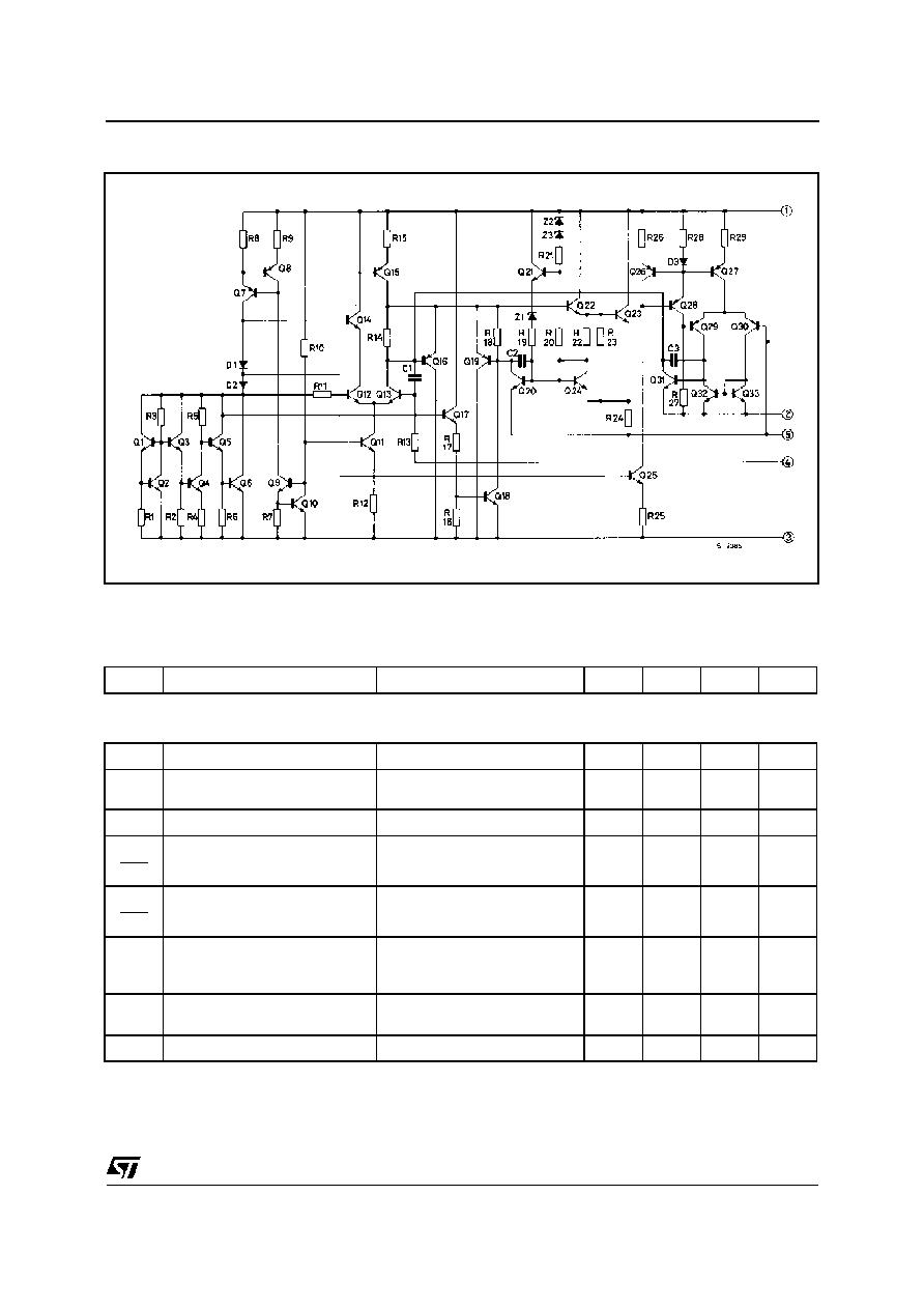 L200 Stmicroelectronics Adjustable Voltage And Current Regulator Based Regulators Schematic Diagram