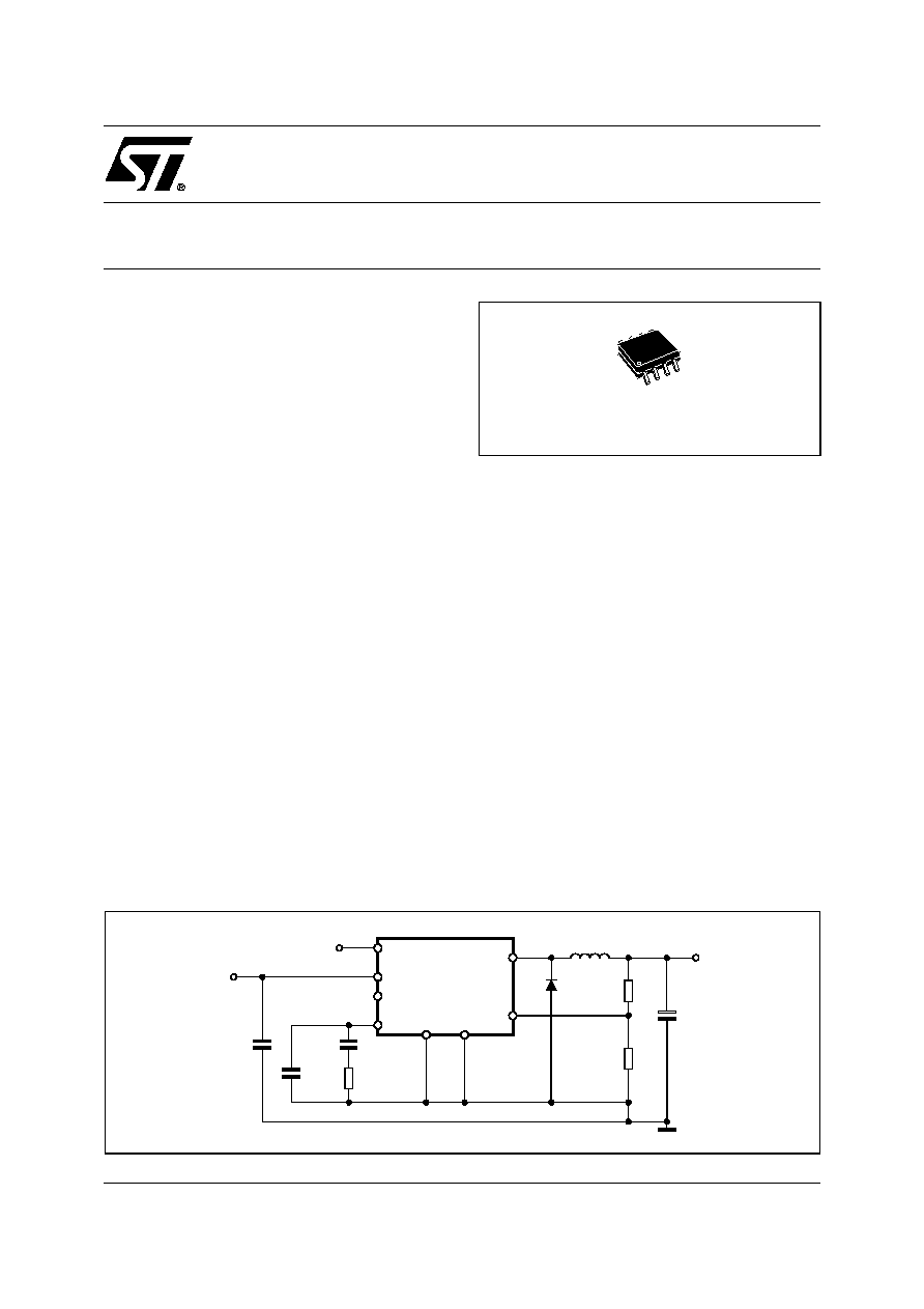 L5973d Stmicroelectronics 25a Switch Step Down Switching Regulator On Voltage 5v Schematic 1 10