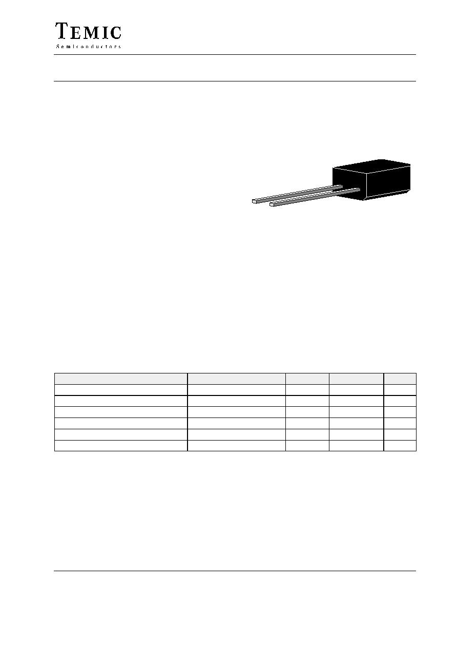 BPW41N (TEMIC) - Silicon Pin Photodiode | HTML datasheet