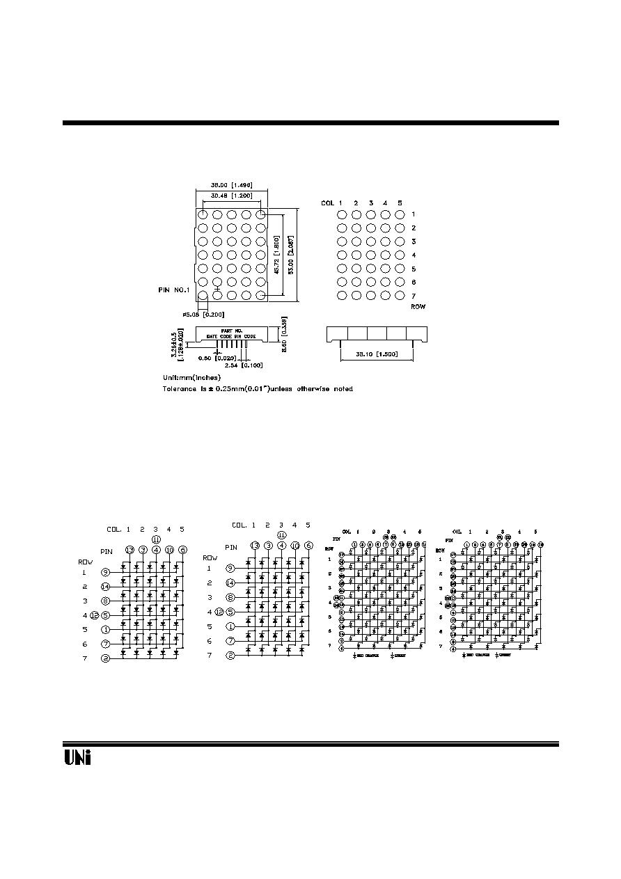 5x7 Dot Matrix Led Display Pinout 5x7 Dot Matrix Led Display
