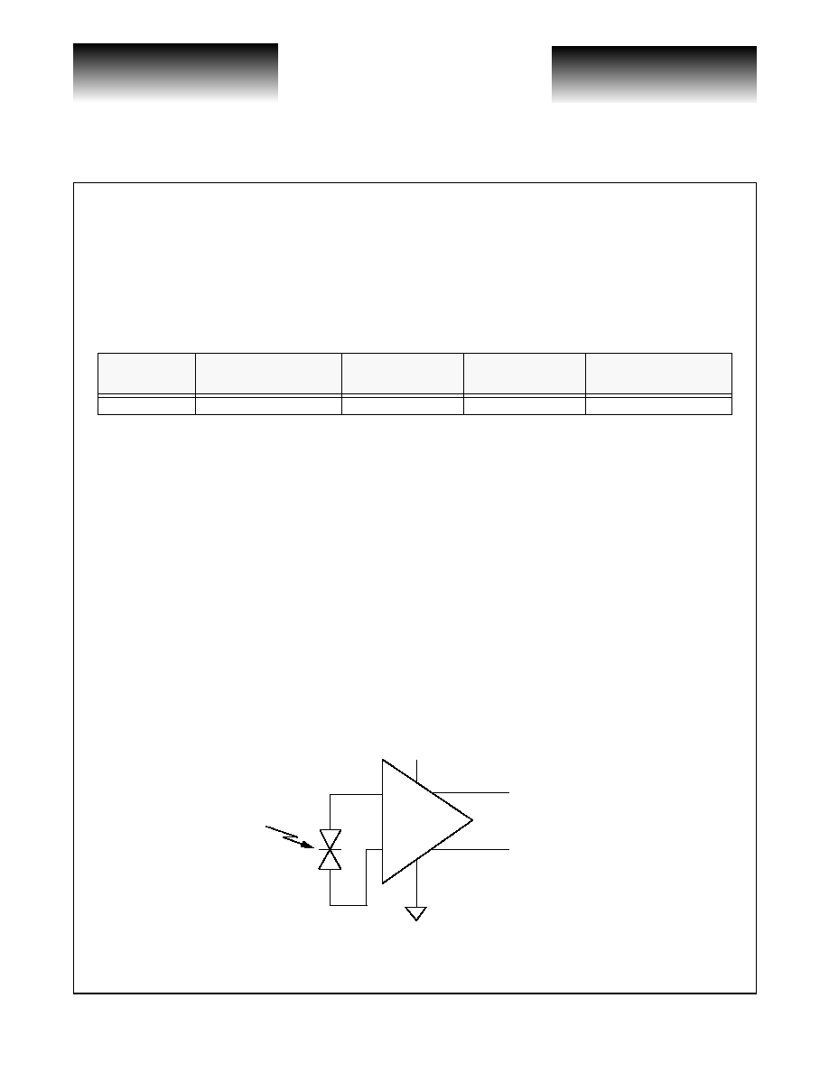 Vsc7809 Vitesse Photodetector Transimpedance Amplifier Family Proposed Schematic Semiconductor Corporation Advance Product Information